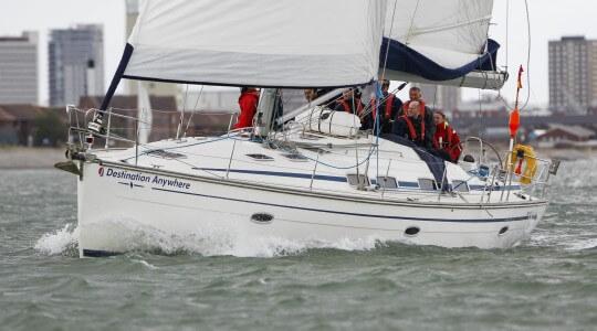 Bavaria 46 sailing charter solent